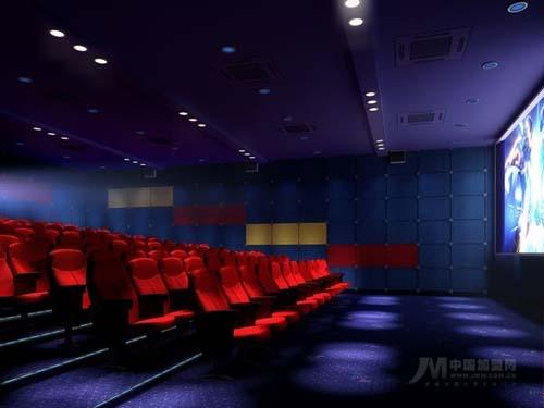 红鲤鱼数字电影院设计实景照片